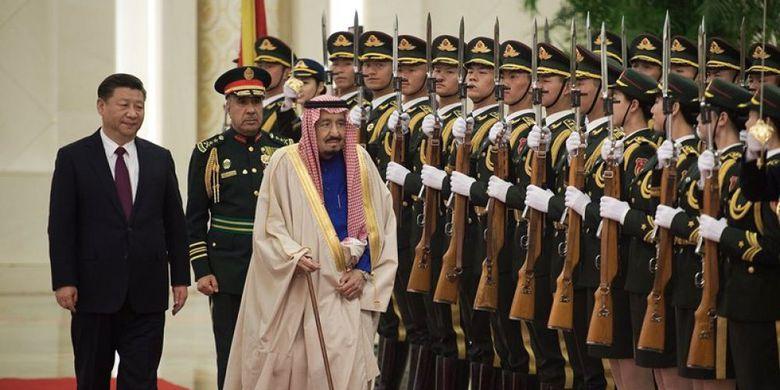 China dan Saudi Teken Sejumlah Kesepakatan Bernilai Rp 866 Triliun