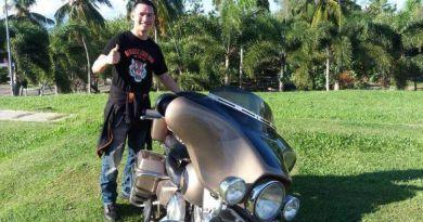 Aditya Herpavi Jelajahi Bengkulu, Kendarai Harley Davidson