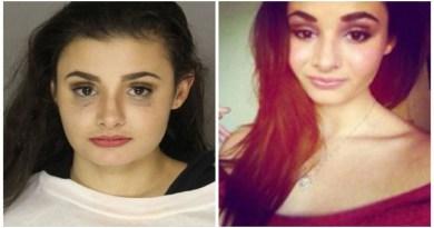 Gadis Foto Model Ditangkap Polisi Karena Berpose Telanjang di Mal