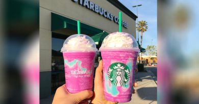 Warna Cantik Starbucks Unicorn Frappucino Ternyata Bahaya Untuk Kesehatan