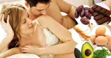 Daftar Makanan Penambah Gairah Sex Pria