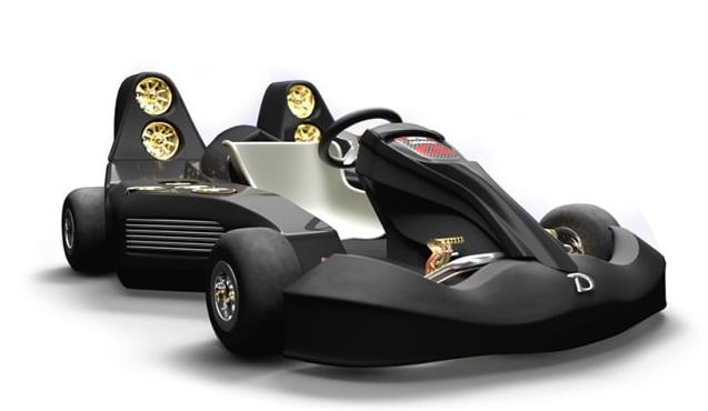 Mobil Go-Kart Tercepat Dunia, Akselerasi 0-100 Km/jam Cuma 1,5 Detik