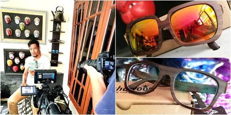 Pengusaha Kacamata Kayu Kualitas Ekspor Ini Ternyata Dulu Pencandu