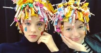 Stylist Asal Jepang Ini Hadirkan Headpiece dari Lego hingga Sponge