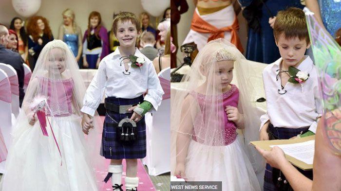 Umurnya Masih 5 Tahun, Sudah Diizinkan Menikah Alasannya Bikin Terharu
