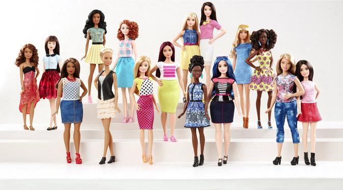 Heboh Wanita Cantik Mirip Boneka Apakah Foto itu Manusia Sungguhan atau Boneka Barbie