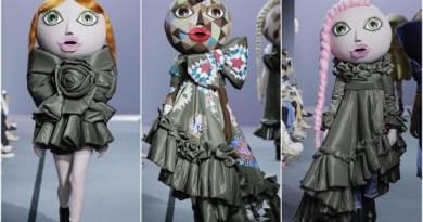 Ketika Boneka Berjalan di Atas Catwalk Fashion Show Viktor & Rolf