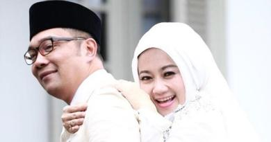 Unggah Foto Mengejutkan, Ini Alasanya Kang Emil Larang Istrinya Oplas