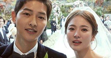 Foto Romantis Song Song Couple Saat Menikah Bikin Baper
