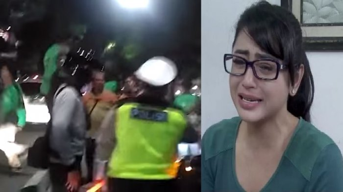 Penjelasan Dewi Perssik Saat Dimaki Warga Akibat Mobilnya Masuk Jalur Busway