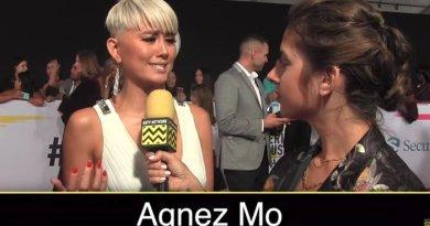 Video Ucapan Agnez Mo di American Musich Awards 2017 Dibully Habis-Habisan