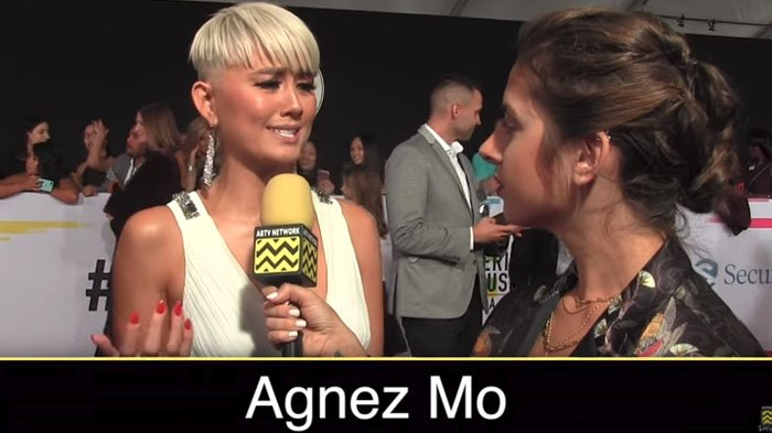 Video Ucapan Agnez Mo di American Musich Awards 2017 Dibully Habis-Habisan