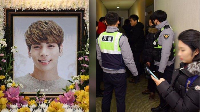 Mencekam! Beredar Foto TKP Bunuh Diri Jonghyun SHINee