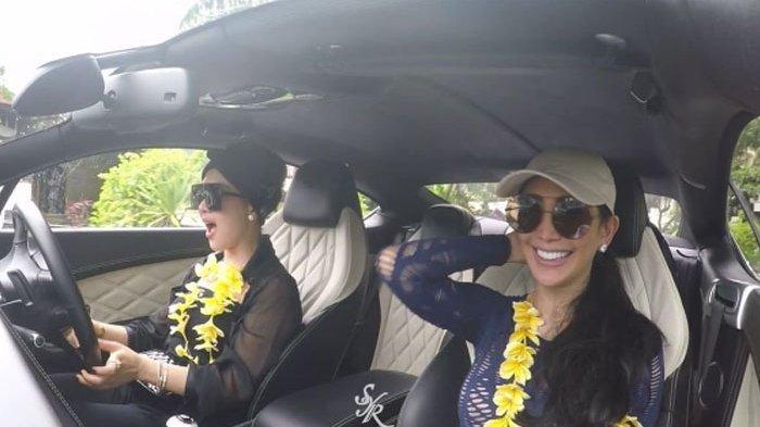 Gara-gara Hal Ini, Syahrini Dinyinyiri Netizen Saat Menyetir Mobil di Bali