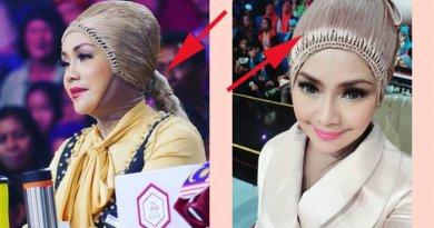 Viral Foto Fashion Iyeth Bustami Pakai Hijab Berlapis Wig, Netter: Cosplay Sun Go Kong?
