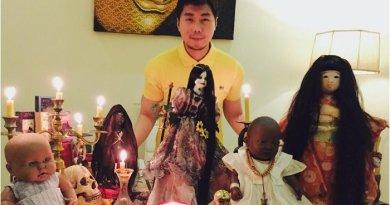 Koleksi Boneka Mistis Roy Kiyoshi yang Sering Di Ajak Ngobrol