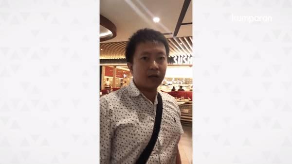 Video Viral, Ibu ibu Marah Karena Pria Ini Menendang Punggung Anaknya