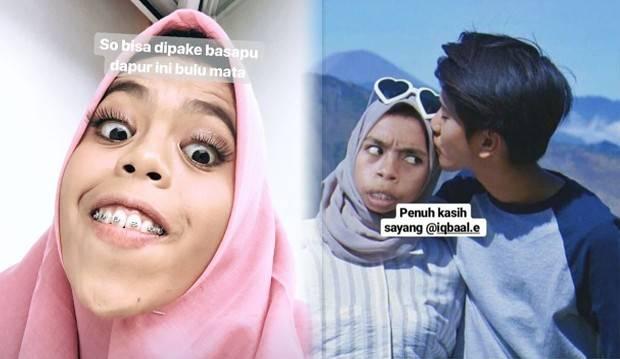 Gadis Kocak yang Ngaku Istri Sah Iqbaal Ramadhan