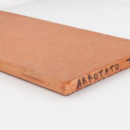Arrotato da crudo terracotta