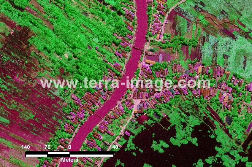 37 Halong WorldView 2 Green Citra Satelit Proyek Foto Citra Satelit Tahun 2014
