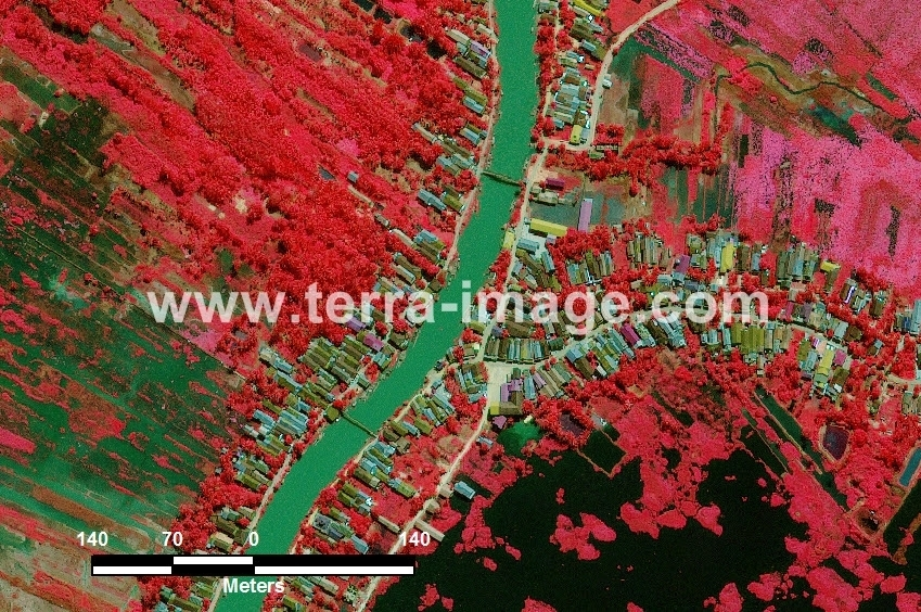 37 Halong WorldView 2 Red Citra Satelit Proyek Foto Citra Satelit Tahun 2014