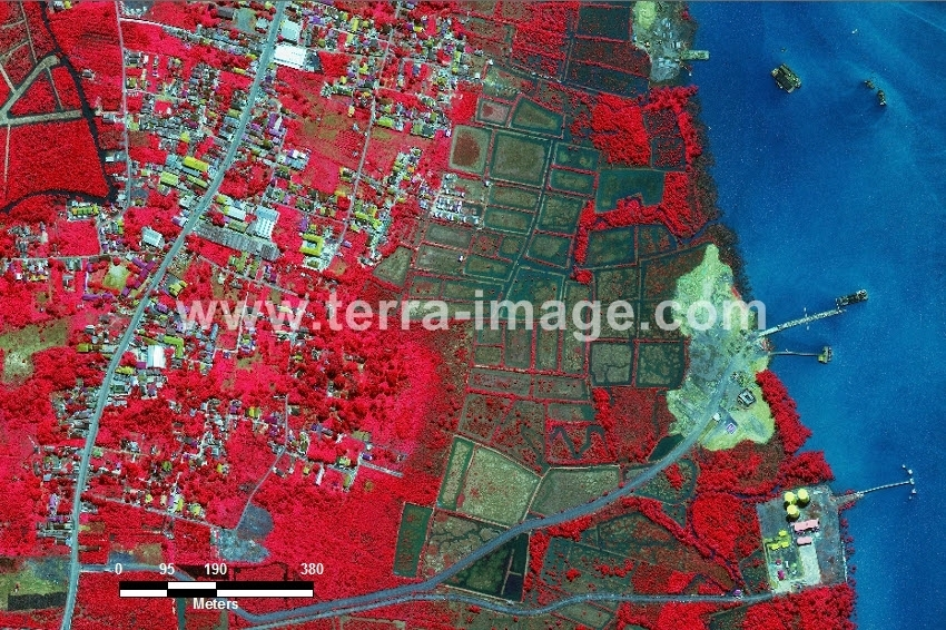 58 Batulicin WorldView 2 Red Color Foto citra satelit Proyek Foto Citra Satelit Tahun 2014
