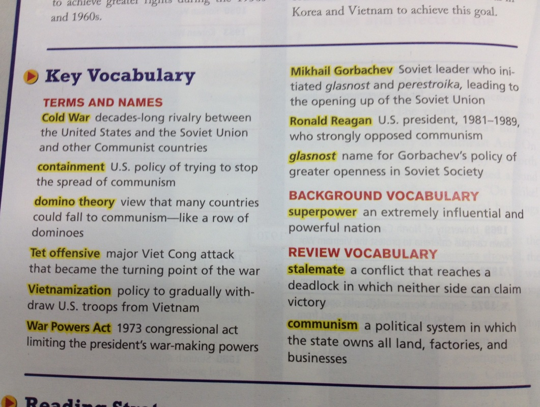 4 12 Cold War Vocab And Timeline