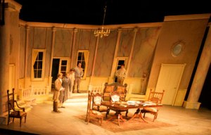 Arcadia takes place in a modern English country house with flashbacks to the time of the English poet, Lord Byron.