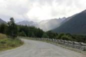 Adentrando no Paso Garibaldi, destino à Ushuaia