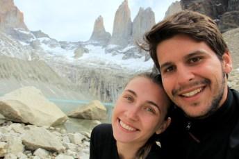 É uma sensação indescritível chegar ao Mirador del Paine, Parque Nacional Torres del Paine