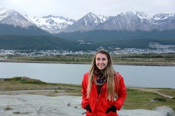 No caminho do aeroporto, Ushuaia