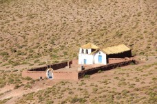 A Igreja do povoado de Machuca