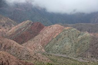 As montanhas coloridas de Purmamarca