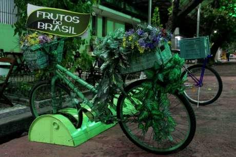 Bicicleta totalmente ecológica