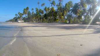 Uma das praias mais belas do Brasil