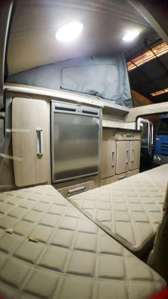 A nossa geladeira Waeco 80l instalada