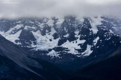 Glaciares ao longo do caminho