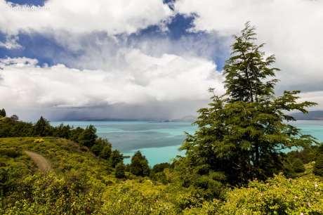 Mesmo sem fazer a travessia, passará por lugares incríveis, como o Lago General Carrera
