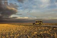 Em algum lugar no meio do Salar de Atacama