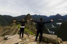 Encantados com Machu Picchu