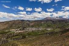 O povoado de Sucre, já na cordilheira dos andes
