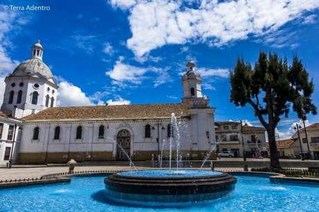 Igreja no centro histórico de Cuenca