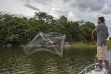 A principal atividade local é a pesca de subsistência