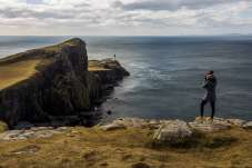 Fotografando o Neist Point Lighthouse