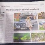 Entrevista para Jornal na Alemanha