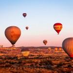 Aerial photography Balões da Capadócia