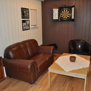 Lounge and Dart room