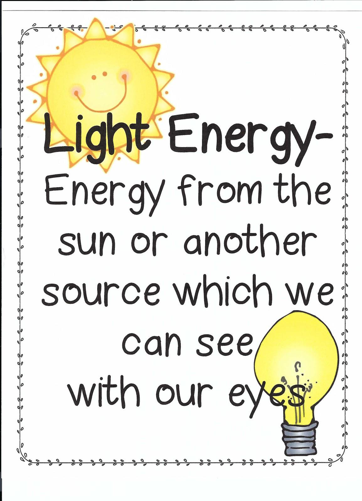 Science Light Energy Week 23