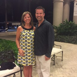 "Darin and me in Cancun last February, while I was still leading WW meetings. I was so upset that I had not lost weight for the trip. Why is it so hard to just be happy with maintaining our weight? Do we want to go through our whole lives always wanting to ""just lose 5 more pounds""??"
