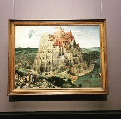 La Torre di Babele, 1563. Kunsthistorisches Museum. Vienna